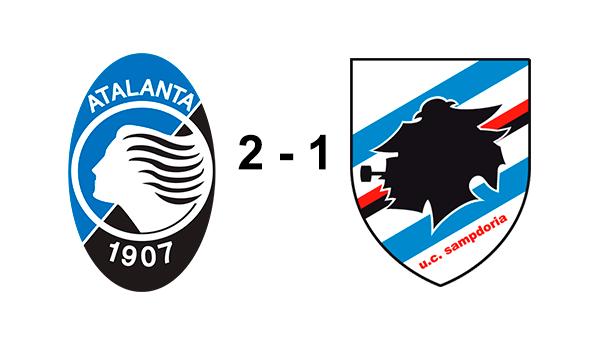 Atalanta 2 -1 Sampdoria